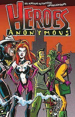 HEROES ANONYMOUS Bill Morrison  SIMPSONS  lim.Hardcover
