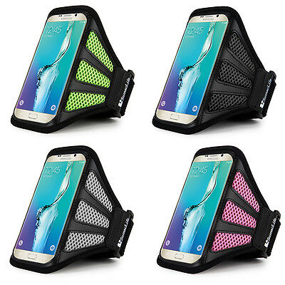 SumacLife Sports Running GYM Mesh Armband Case Holder For iPhone Xs Max / LG V40