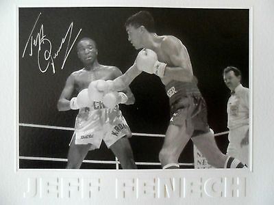 Jeff Fenech Australia Signed In Person Print Official Ltd Edition Pw&c Coa