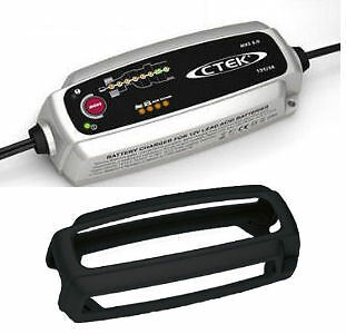 New CTEK Multi MXS 5.0 12V Car Battery Smart Charger & Conditioner + Bumper Case