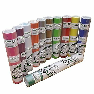 203mm x 5M GLOSS Self Adhesive Sign Making Vinyl Ideal For - Silhouette Portrait