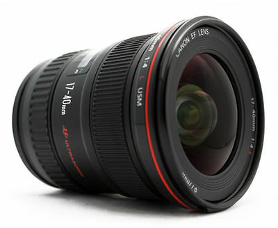 Canon EF 17-40mm f4L USM Ultra Wide Angle Zoom Lens NEW