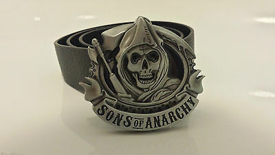 Sons Of Anarchy Belt Buckle SAMCRO  | With / Without Belt | Free Postage