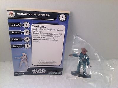 Star Wars Champions of the Force 60/60 Varactyl Wrangler (C) Miniature