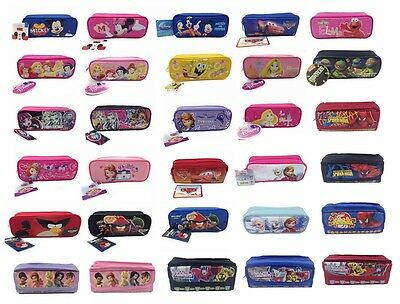 Disney Pencil Pouch Collection - Mickey Frozen Princess Zippered Pencil Case