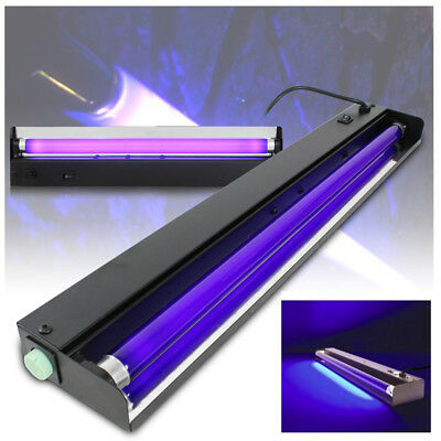 2x QTX Ultraviolet UV Glow Tube Disco Lights Blacklight Party Lighting Package