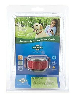 PetSafe PIF00-13672 Stay + Play Stubborn Dog Wireless Fence Rechargeable Collar