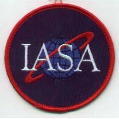 Farscape TV Series IASA Logo Uniform Embroidered Patch, NEW UNUSED