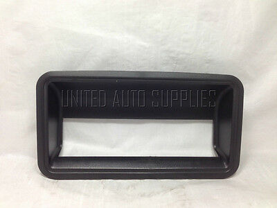 Liftgate Tailgate Tail Gate Rear Back Latch Outside Handle Bezel Textured Black