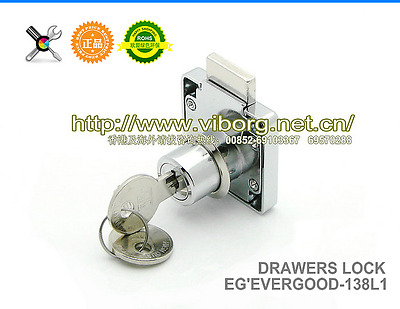 High Quality Desk Drawer Dead Bolt Lock For Drawers Box Cabinet Cupboards, etc
