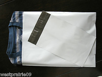 "40 Poly Mailers 10""x13"" Self Seal Plastic Shipping Bags Envelopes"