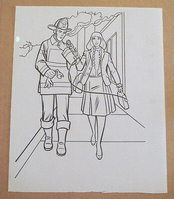 Superman Activity Book Original Art #50 Lois Lane FRANK McLAUGHLIN