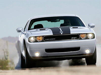 "001 Dodge Challenger SRT SRT8 Super Racing Car 36/""x24/"" Poster"