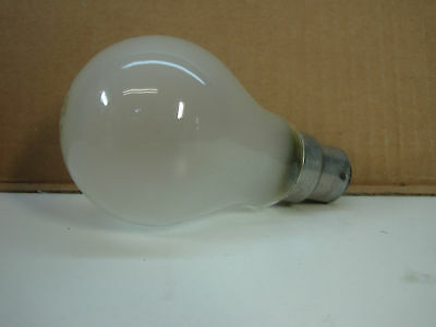 Lot of 4 New Philips 75W Light Bulbs lamp 230V A60 B22 Frost