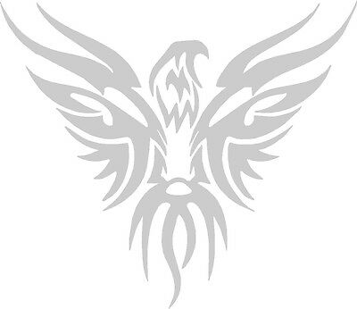 Tribal Eagle Flames Vinyl Decals Window Stickers Motorcycle Vehicle Graphics