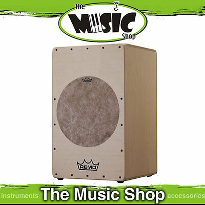 New Remo Mondo Cajon Drum with Texture Target - CJ-6129-00