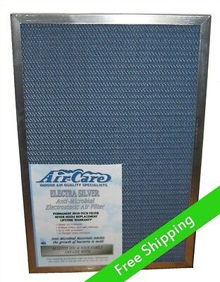 Electrostatic A/C Furnace  Air Filter - Permanent, Washable, Lifetime Warranty