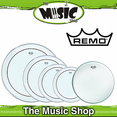 "Remo Encore Pro Pack - 12"", 13"", 14"", 16"" & 22"" Drum Skin - Rock Size EN-PS20-PP"
