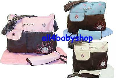 3PCs Baby Angel Nappy Changing Bags Large Sizes NEW