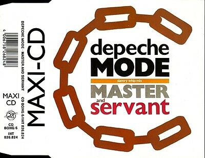 DEPECHE MODE-Master And Servant (1988) (CDM) Maxi, Re Mute, Mute