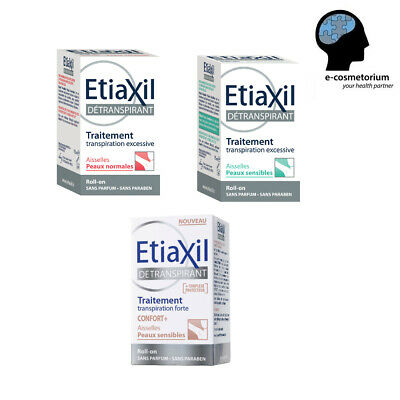 Etiaxil Roll-On Antiperspirant SENSITIVE/NORMAL Skin 15ml