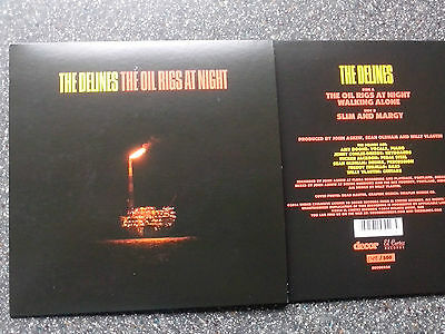 "2014 RSD 7"" VINYL #230 of 500 The Delines Oil Rigs at Night Record Store Day NEU"