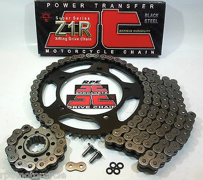 YAMAHA YZF R1 2004-05 JT Z1R X-Ring QUICK ACCELERATION CHAIN AND SPROCKETS KIT