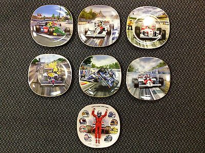 CERAMIC COLLECTOR PLATES from FORMULA ONE ADELAIDE AUSTRALIAN GRAND PRIX