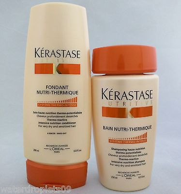 Set KERASTASE Bain Nutri-Thermique Shampoo + Conditioner Duo for Very Dry Hair