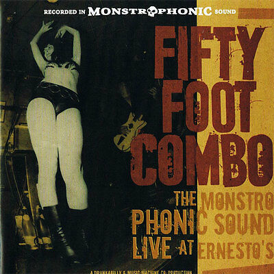 FIFTY FOOT COMBO The Monstrophonic Sound Live At Ernesto's 2xLP . lords altamont