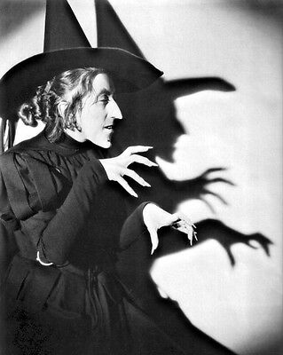 New 11x14 Photo: The Wicked Witch of the West, Wizard of Oz Promotional Still