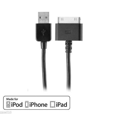 MFI Apple Certified 2.1 AMP USB 30 Pin Charging / Sync Cable iPad 1, 2, 3,4  6Ft