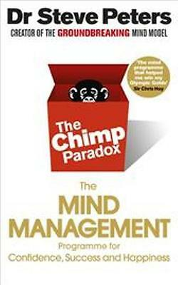 The Chimp Paradox - The Mind Management Programme by Dr Steve Peters NEW