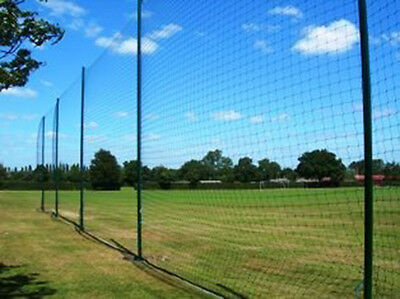 Soccer Ball Stop System / Net & Posts Backstop/Perimeter/Surround upto 20ft High