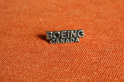 09334 Pin's Pins Boeing Canada Avion Plane Airline
