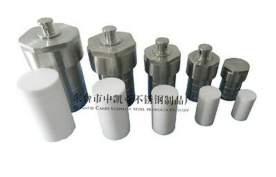 50ML,Teflon lined Hydrothermal synthesis reactor,High Pressure PTFE Lined Vessel