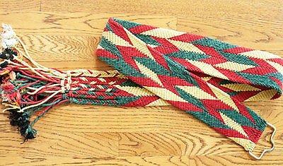 Split-Ply, Hand-Woven, India, Camel Girth. Ply-Split Braid From Rajasthan