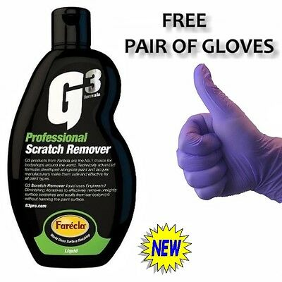G3 PROFESSIONAL Car Scratch Remover 500 ml Repair Filler Fix For Touch Up BEST