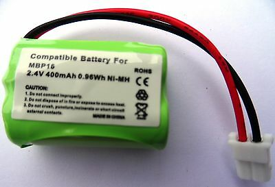 Rechargeable Battery 2.4V Compatible With Motorola Mbp16 Mbp11 Mbp13 Monitor