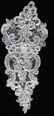 Lace Appliques for Bridal /& Better Dress NEW  #2487b