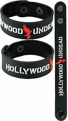 HOLLYWOOD UNDEAD  NEW! Bracelet Wristband aa125 Black/American Tragedy