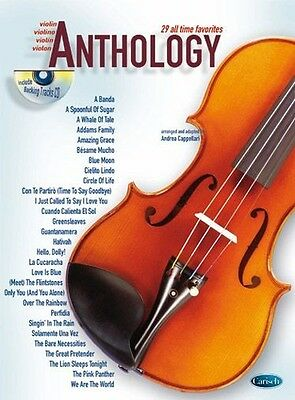 Anthology (Violin), Volume 1, Sheet Music, CD, English, ML2791 - 9788850712960
