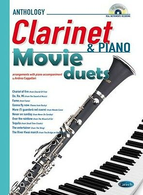 Movie Duets for Clarinet & Piano, Sheet Music, CD, English - 9788850725618