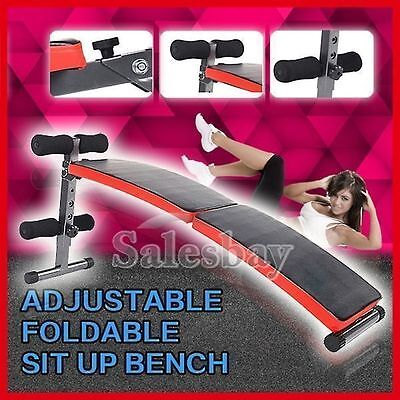 Abdominal Machines Sit Up Bench Crunch Fitness Exercise Gym Decline Adjustable