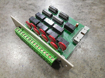 USED Environmental Systems Corp 112-3300 Data Logger Relay Output Card
