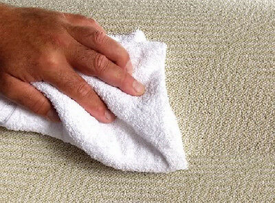 20 cotton terry cloth cleaning towels shop rags 12x12