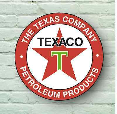 Large Retro Style Texaco 2Ft Garage Sign Wall Plaque Classic Oil Vintage Car