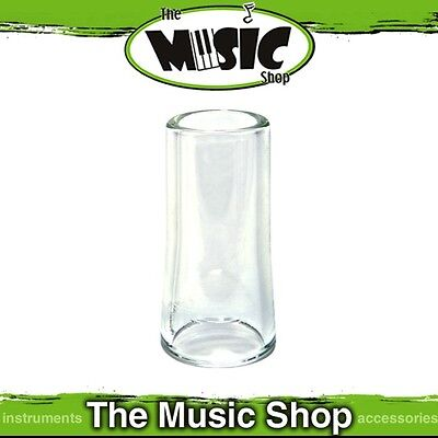Brand New Jim Dunlop 235 Tempered Flare Large Glass Guitar Slide - J235
