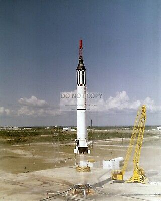 Alan Shepard Mercury Astronaut Lifts Off In Freedom 7 - 8X10 Nasa Photo (Aa-740)