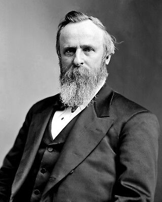Rutherford B. Hayes - 19Th President Of The United States - 8X10 Photo (Aa-777)